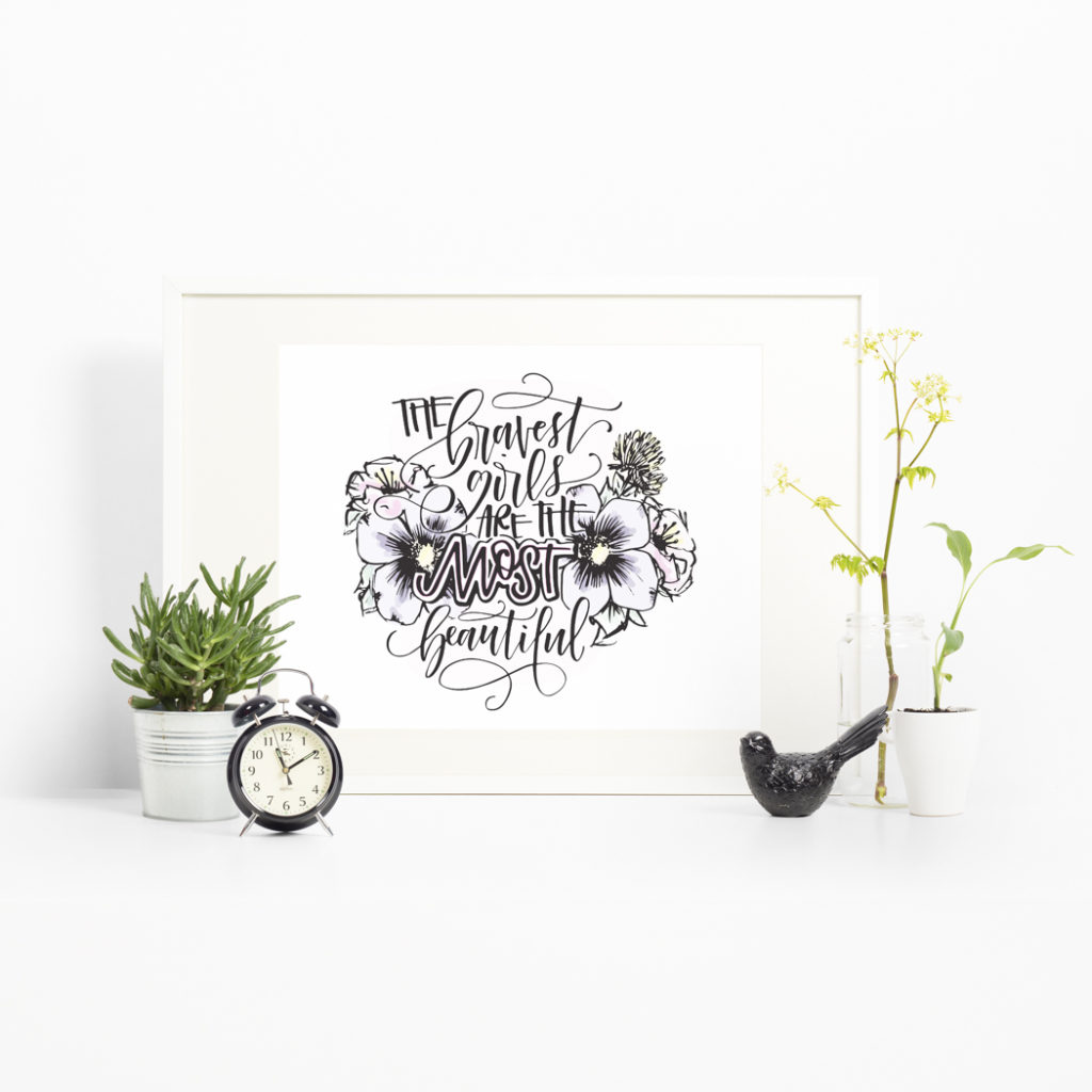 "Learn how to turn your hand lettering hobby into a ""jobby"" with Amanda Arneill's ""Hobby to Jobby"" online course at amandaarneill.com"