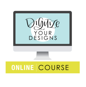 Digitize Your Designs Online Course | Amanda Arneill