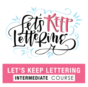 Let's Keep Lettering
