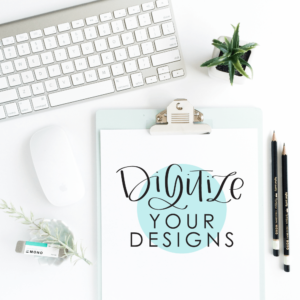 Learn and understand the process of taking your hand lettered designs to vectors with Amanda Arneill