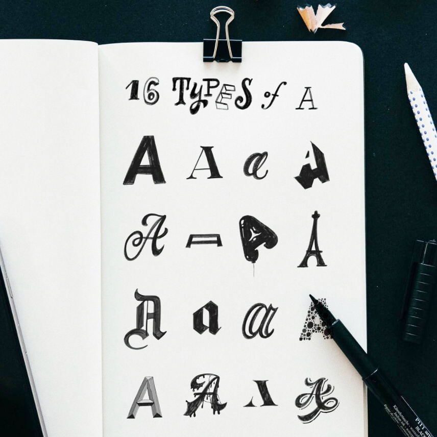 Learn tricks of mastering lettering and font styles with Stefan Kunz | Amanda Arneill