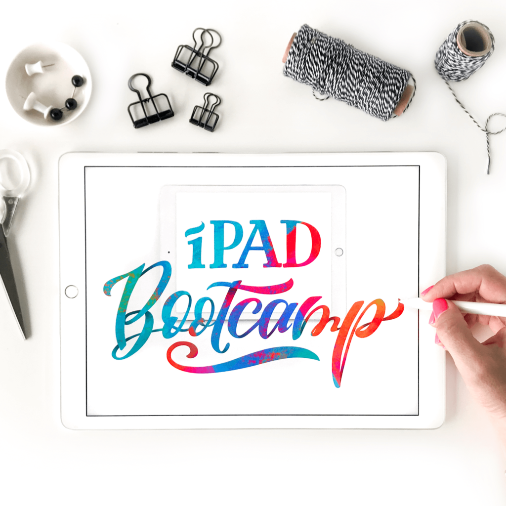 Learn how to use your iPad as an all in one design device with this self paced online course taught by Karin Newport and Amanda Arneill at amandaarneill.com