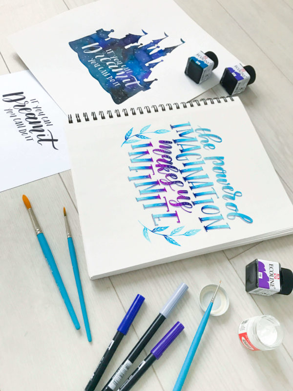 Take your lettering skills to the next level with this advanced online power course from amandaarneill.com taught by Amanda Arneill and Alisse Courter where you will learn how to successfully use and blend colors, embellish your letters and letter on different surfaces like glass, chalkboard, wood and canvas to create stunning pieces.