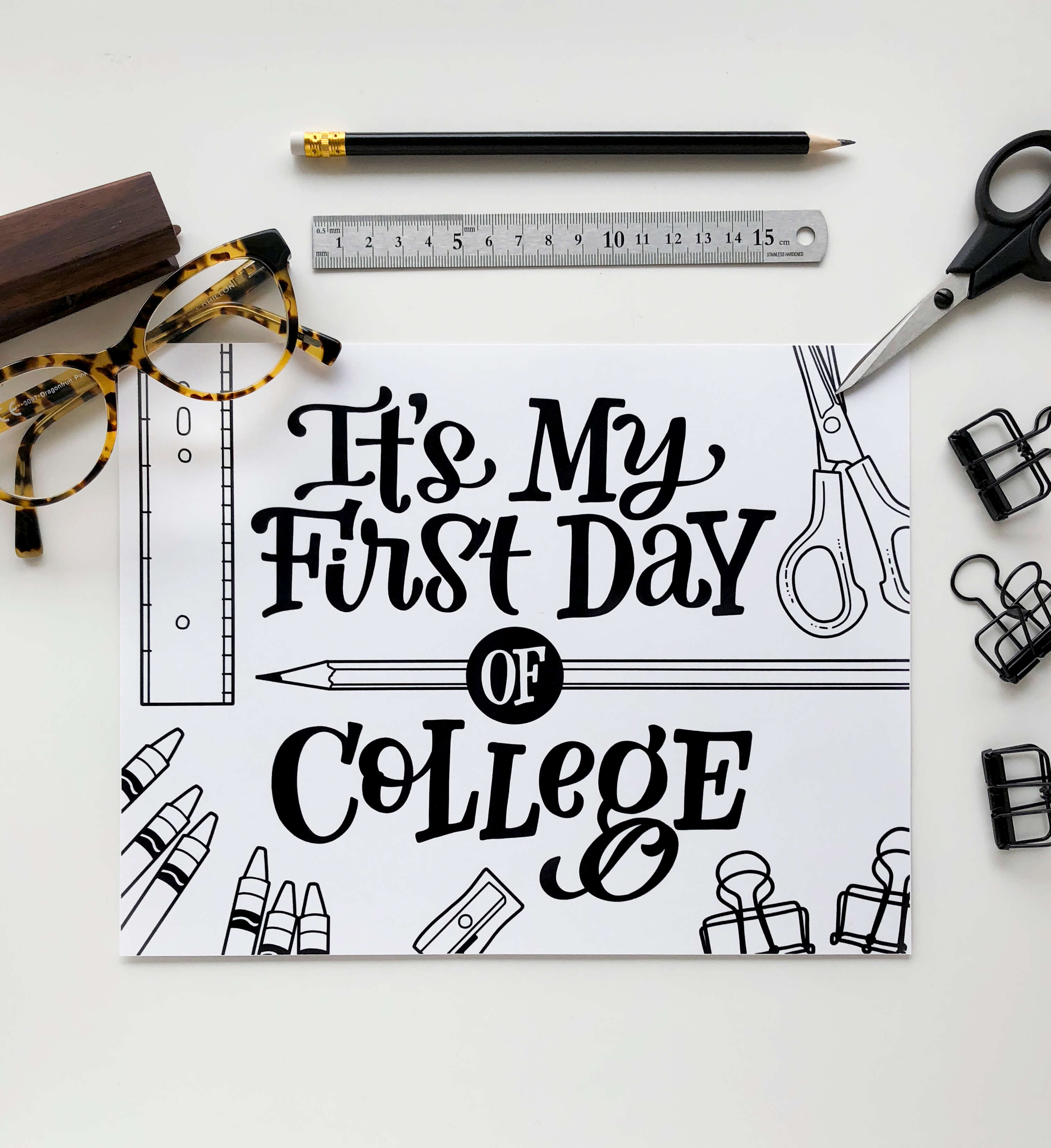 First Day Of School Photo Prop Printable Download15