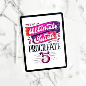 Ultimate-Guide-to-Procreate-5-Logo-Square