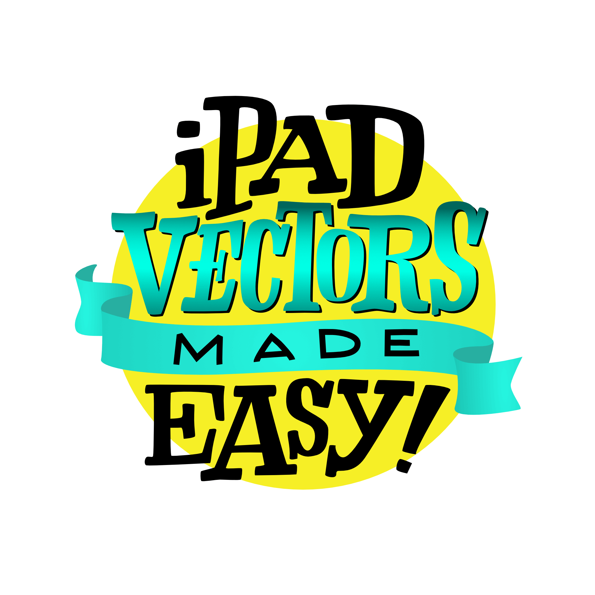 TINY iPad vectors made easy logo 2