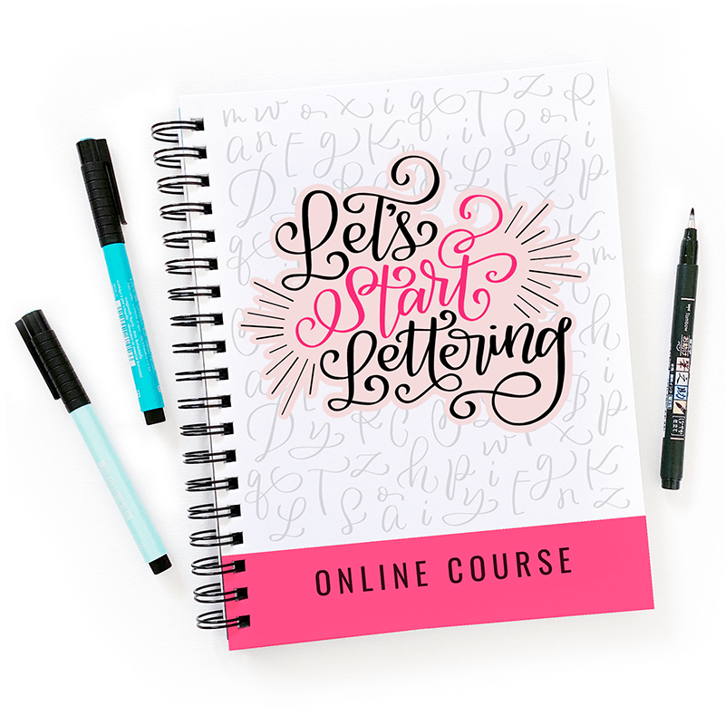 Let's Start Lettering Course Image tiny